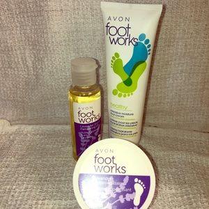 Avon foot works 3 Pc set
